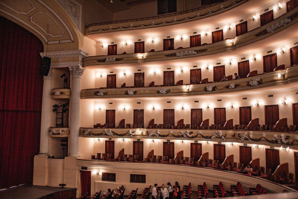 Inside teatro Peon Contreras