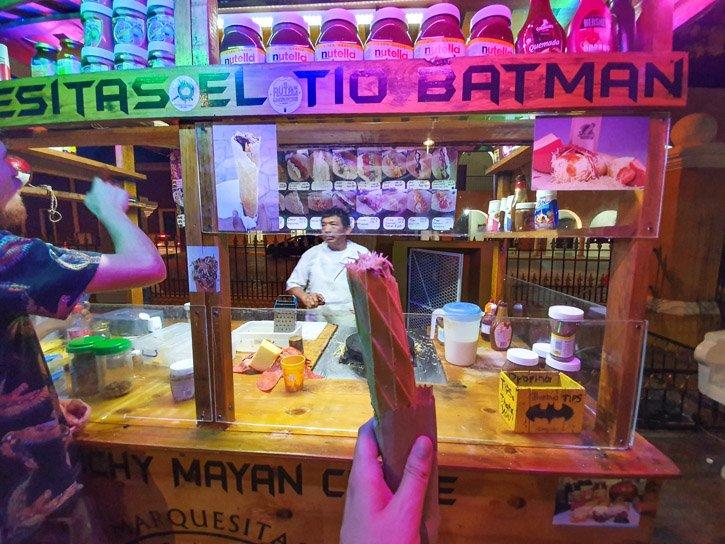 Marquesitas Tio Batman