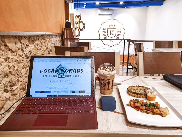 Digital Nomad Coffee Shop in Valladolid