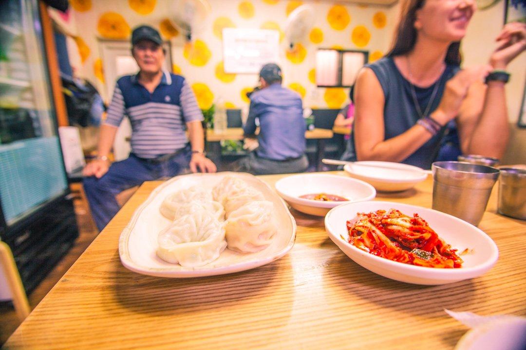 Kimchi and Mandu