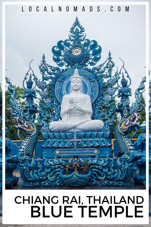 Chiang Rai Blue Temple by Lois of auburnroe.com